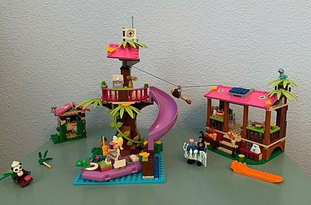 LEGO Friends Jungle Rescue Base Building Set 41038 NIB