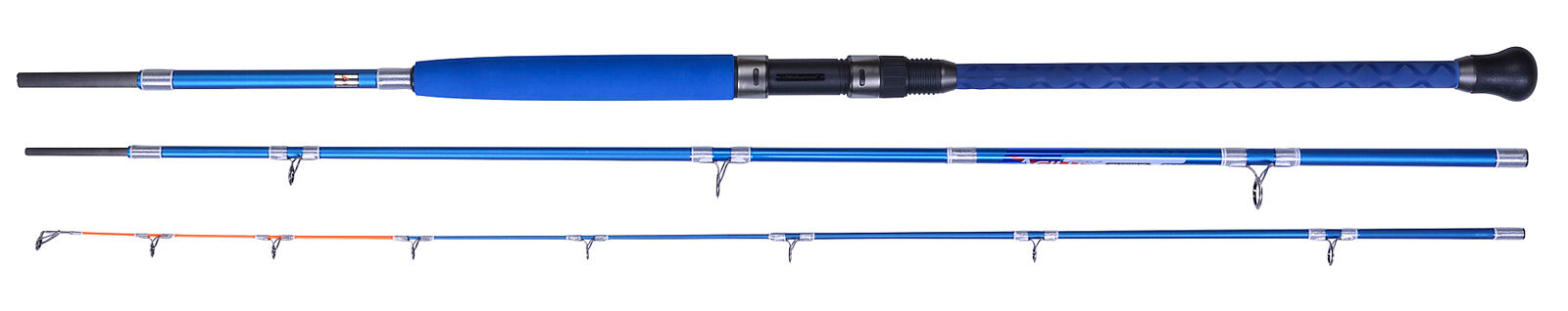 Shakespeare Agility 3 Piece 9ft Saltwater Sea Tipster Fishing Rod 10-40g
