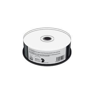 CD-R-Mediarange-Inkjet-FF-Printable-Tarrina-25-uds-Negro