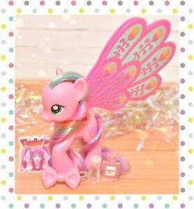 """❤️My Little Pony 3"""" Brushable Glitter Glimmer Wings Ploomette 2011 MLP G4❤️"""