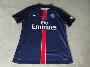 low priced 03636 c0327 Details about Authentic Nike PSG Paris Saint Germain Soccer Jersey Player  Vapor Match Shirt XL