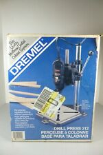 Vintage Dremel Drill Press 212 Moto Tool Portable Stand New In Unopened Box