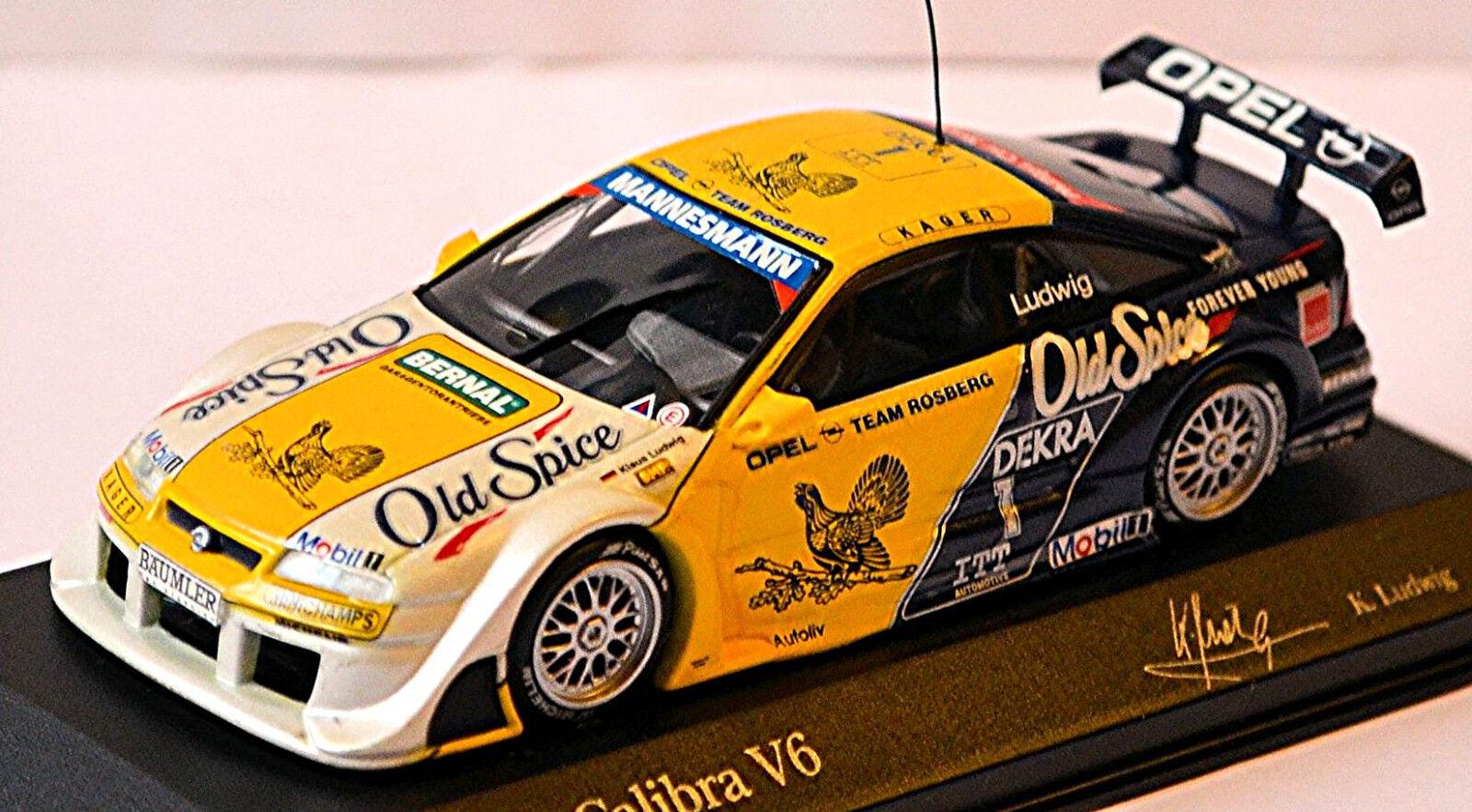 Opel Calibra V6 4x4 ITC France 1995 K. Ludwig  1 Hasseröder Vieux Spice 1 43 Min