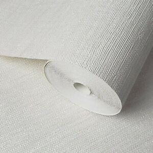 modern-Wallpaper-textured-horizontal-stria-lines-Off-white-cream-faux-grasscloth
