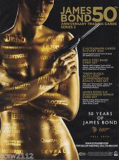 JAMES BOND 50TH ANNIVERSARY S2 ULTRA MASTER SET AUTOGRAPHS CASE INCENTIVES+++