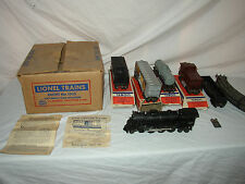 LIONEL 1511S 027 GAUGE 2037 ENGINE & FREIGHT SET WITH MASTER CARTON LOT #U-1