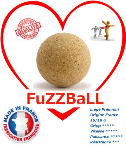 Foosball Balls 6 Pure Cork 0,6oz//35mm Raw Cork Tournament Edition