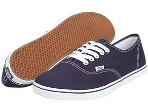 VANS AUTHENTIC LO PRO NAVY TRUE WHITE ORIGINAL MEN WOMEN FREE ... 97330d014