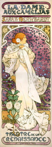 Vintage POSTER.Stylish Graphics.Art Nouveau.Theater Play.House Room Decor.595