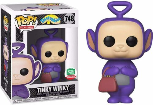Funko Pop Vinyl Television Figure TELETUBBIES Tinky Winky  NEW 748