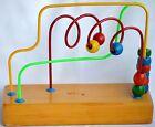 Educo Original Maze Roller Coaster Wooden Bead Toy - Made in Canada