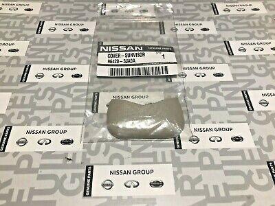Nissan Altima Maxima Murano Pathfinder Rogue Right Left Sunvisor Bolt Cover OEM