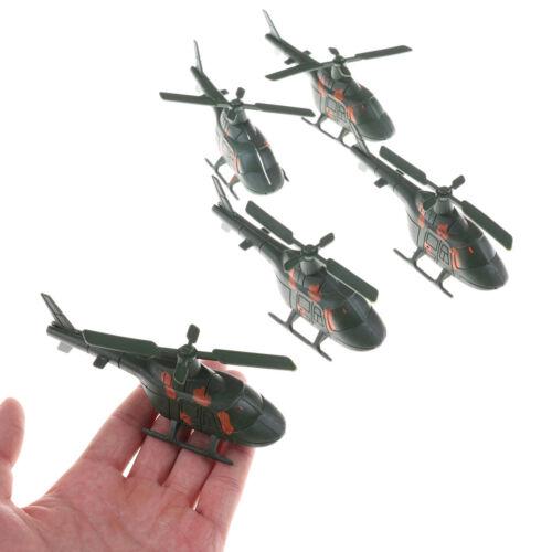 2pcs Sand Table Military Fighter Model World War II War Helicopter Model ToYNFK