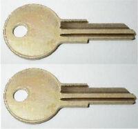 (2) Vetter Fairing Key Pre-cut To Your Key Code Hc80-hc91