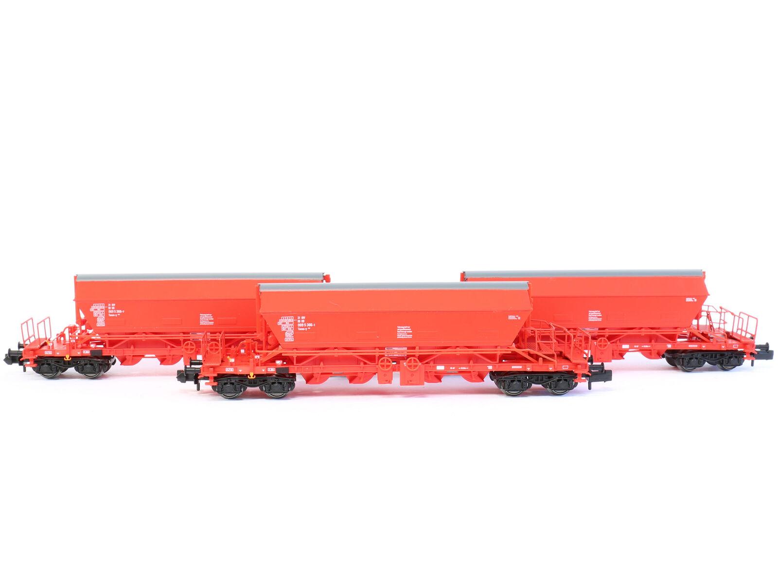 Kuehn 93032-vagones kaliwagen uaoos 9331 DB 3x-pista N-nuevo