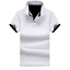 Cotton-Men-039-s-Fashion-Slim-Short-Sleeve-Shirts-T-shirt-Casual-Tops-Blouse-Top thumbnail 14