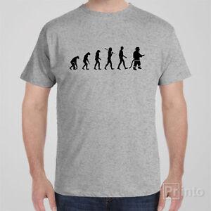 40e56fce02 Funny cool T-shirt EVOLUTION OF FIREFIGHTER fireman gift idea 911   eBay