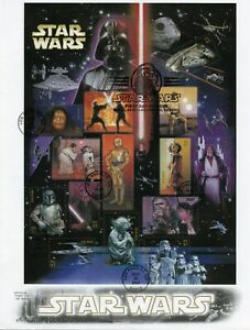 UNITED-STATES-2007-STAR-WARS-SHEET-ON-ARTCRAFT-FIRST-DAY-COVER