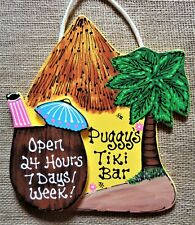 Welcome LEMON SIGN Wall Door Plaque Summer Tropical Patio Deck  Tiki Bar Hot Tub
