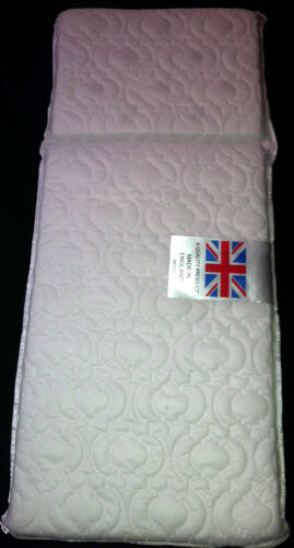 COACH PRAM DELUXE SAFETY MATTRESS for Silver Cross Tenby FULLY BREATHABLE
