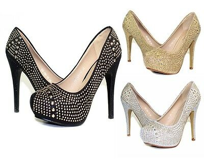 "GG-GN-10 New Blink Party Wedding Prom Pumps 5/"" High Heel Women/'s Shoes Black"