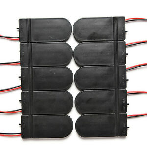 10X-DIY-3V-Button-Coin-Cell-Battery-Holder-Case-Box-With-On-Off-Switch-CR2RASK