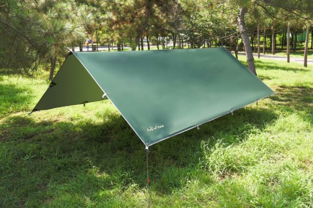 Waterproof Sunshade Tent Tarp Rain Fly Awning Outdoor