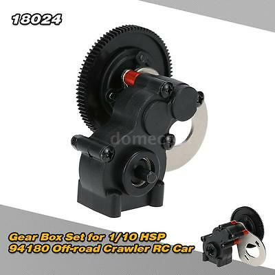 High Quality 18024 Gear Box Set for 1/10 HSP 94180 Off-road Crawler RC Car M3P2