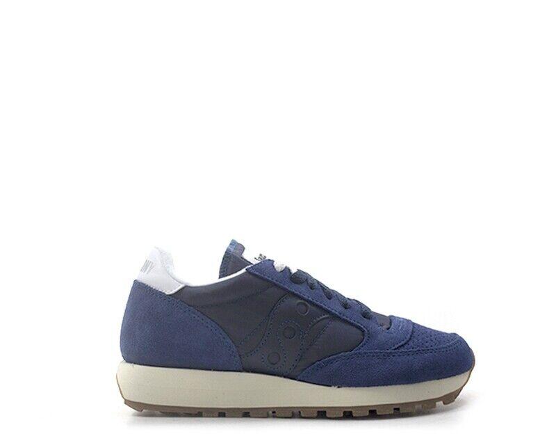 Zapatos Tenis Saucony mujer azul Tela, Gamuza S60419-1