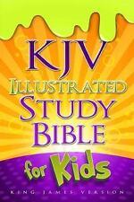 KJV Illustrated Study Bible for Kids, Hardcover, , Very Good Book