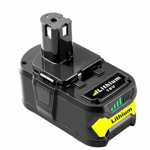 6.0Ah 18V For Ryobi P108 One Plus Lithium High Capacity Battery P104 P105 P102