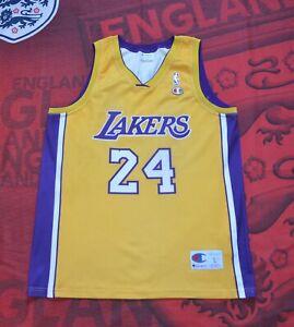 Kobe Bryant #24 Basketball Jersey LA Lakers Champion Made In Italy ...