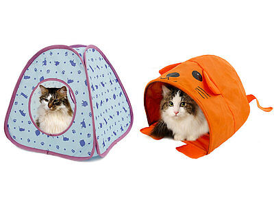 Pet Cat Tent House Kittens Play Bed Summer Cool Mouse/ Square Shape Two Types