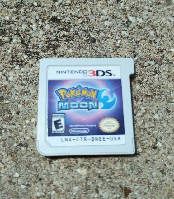 Pokemon Moon (Nintendo 3DS/2DS, 2017) Tested - Game Cartridge Only!