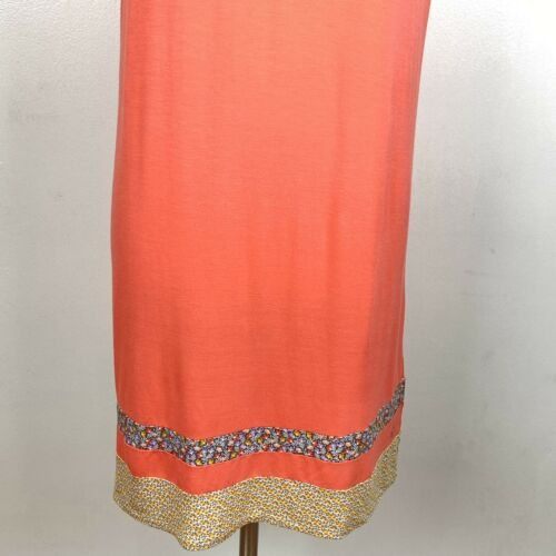 Details about  /CUDDL DUDS Smooth Jersey Print Mix Dress Pajamas Small Coral Glow knit sleepwear