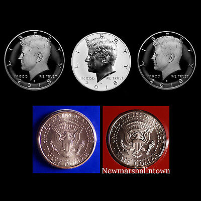 2015 P+D+S Kennedy Half Dollar Mint Proof Set ~ PD in Original Mint Wrappers