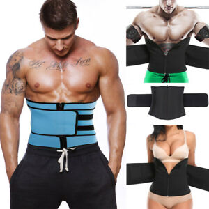 4e8dae6fbf0 Mens Waist Trainer Shaper Firm Control Weight Loss Belly Shapewear ...