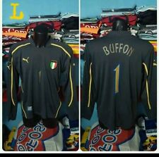 Buffon goalkeeper Italia Italy Original Puma top shirt jersey large