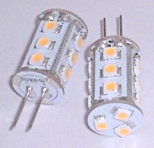 Auto Marine LED bulb (one bulb only) G4 Bi-Pin tower 1.3W 8v-30v DC   G4LED15T