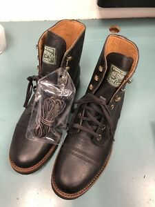 100Leather Ralph Lauren Size By Polo Country Men's 8225 Enville Details About Boots eIbE29HWDY