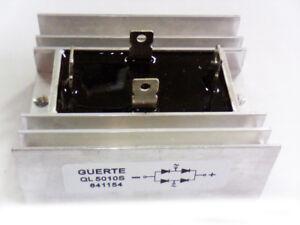 Einphasig-Brueckengleichrichter-Guerte-QL5010S-50A-1000V-Kuehlkoerper-Diodenbruecke