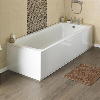 Linton Premier Acrylic Square Single End Bath inc legset in Choice of Sizes