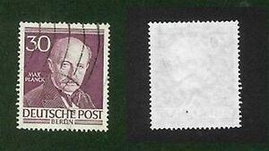 Deutsche-Post-Berlin-30-Pf-Max-Planck-1952-53