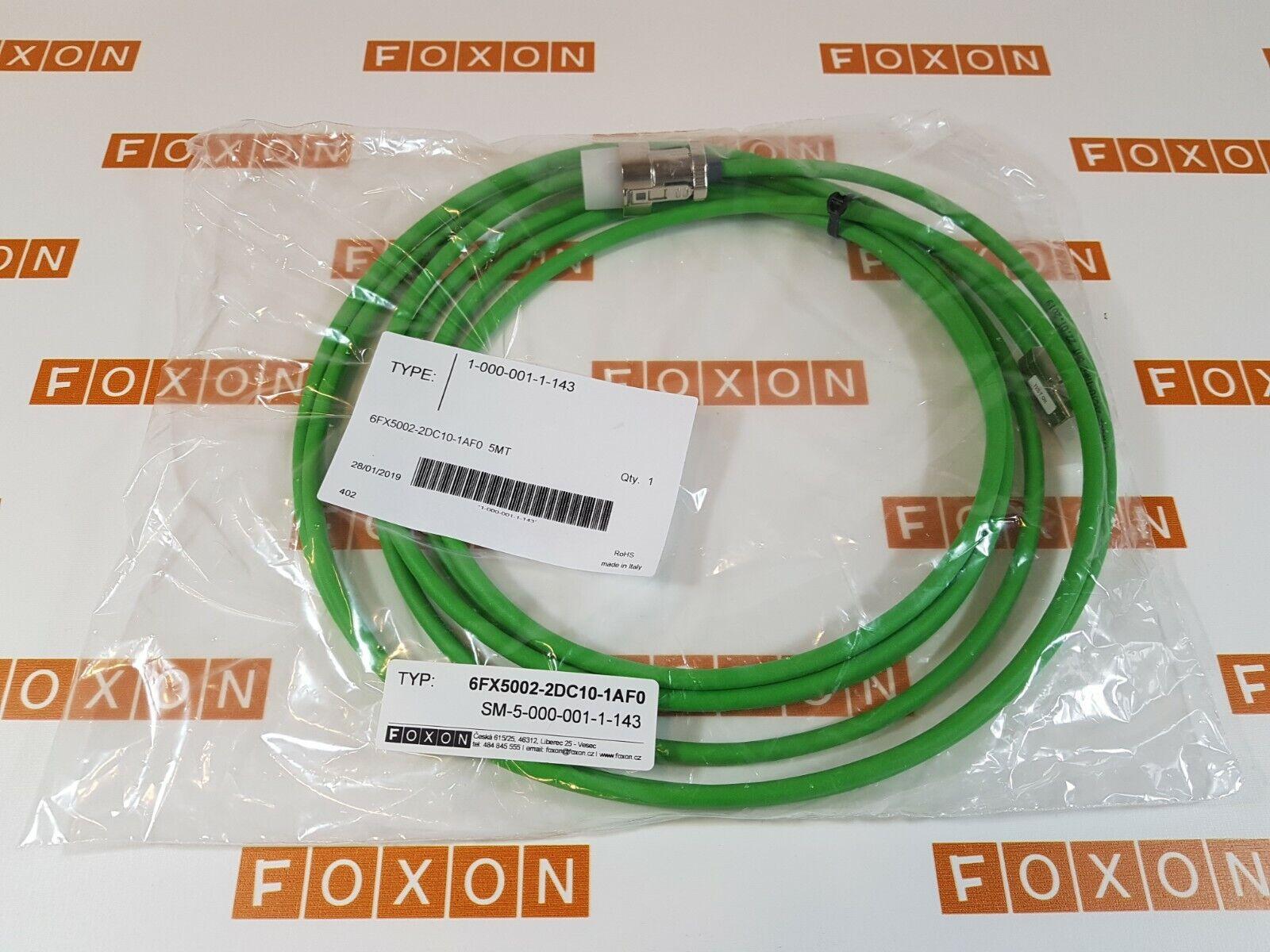 Siemens Signalleitung konfektioniert  5 m Typ 6FX2002-2EQ10-1AF0 Neuware in OVP