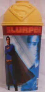 DC Comics Superman Returns 7-11 Slurpee Hologram Cup w// Lid Brandon Routh NOS