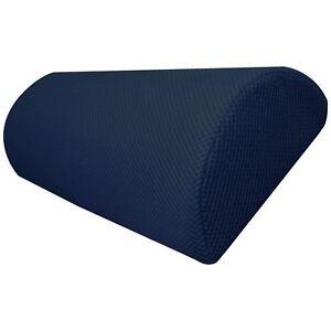Blue-Half-Moon-Memory-Foam-Cushion-Pillow-for-Neck-Lower-Back-Knees-Legs-Feet