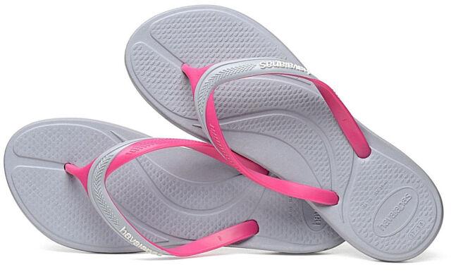 c183b7d12a24 Havaianas Women`s Flip Flops Atena Sandal Ice Grey Sexy Brazilian Sandals  NWT