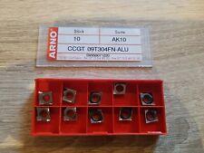 CCGT 12 04 04 Wendeschneidplatten ALU 10 Stk zum Drehen C