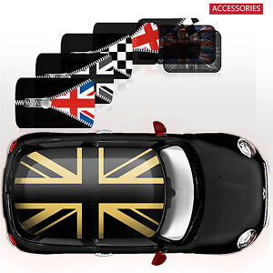 Classic Whole Roof Graphics Decor Stickers Decal For Mini