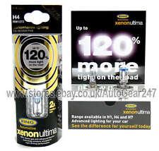 Ring Xenon Ultima 120% più luminoso H4 RW1272 100% GAS Auto Testa Luce Lampadina + GRATIS